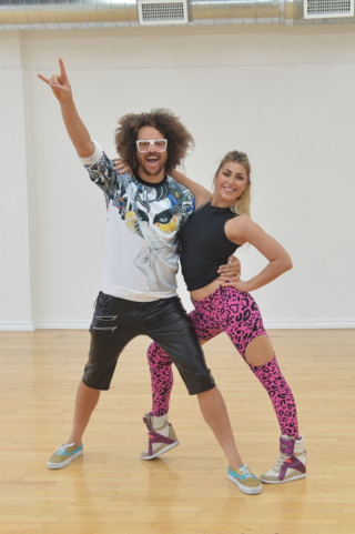 Redfoo and Emma Slater Copyright (ABC - Todd Wawrychuk)
