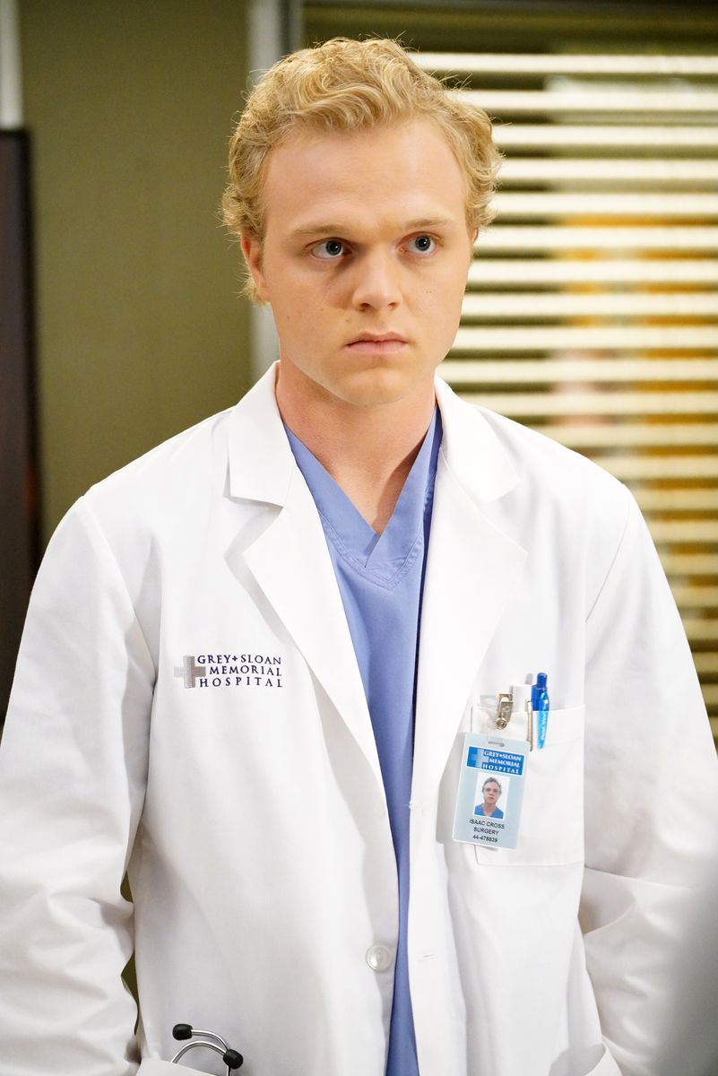 Grey\'s Anatomy: Joe Adler on portraying Isaac, working with Denzel ...