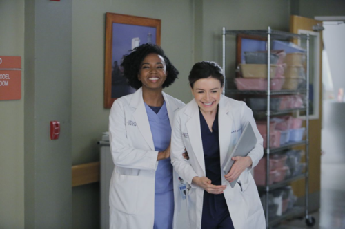 Jerrika Hinton, Caterina Scorsone Copyright - ABC - Tony Rivetti