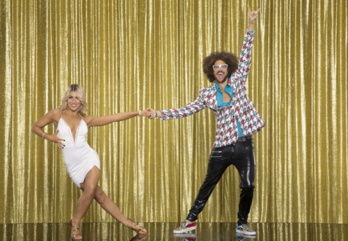 Emma Slater and Redfoo Copyright (ABC - Craig Sjodin)
